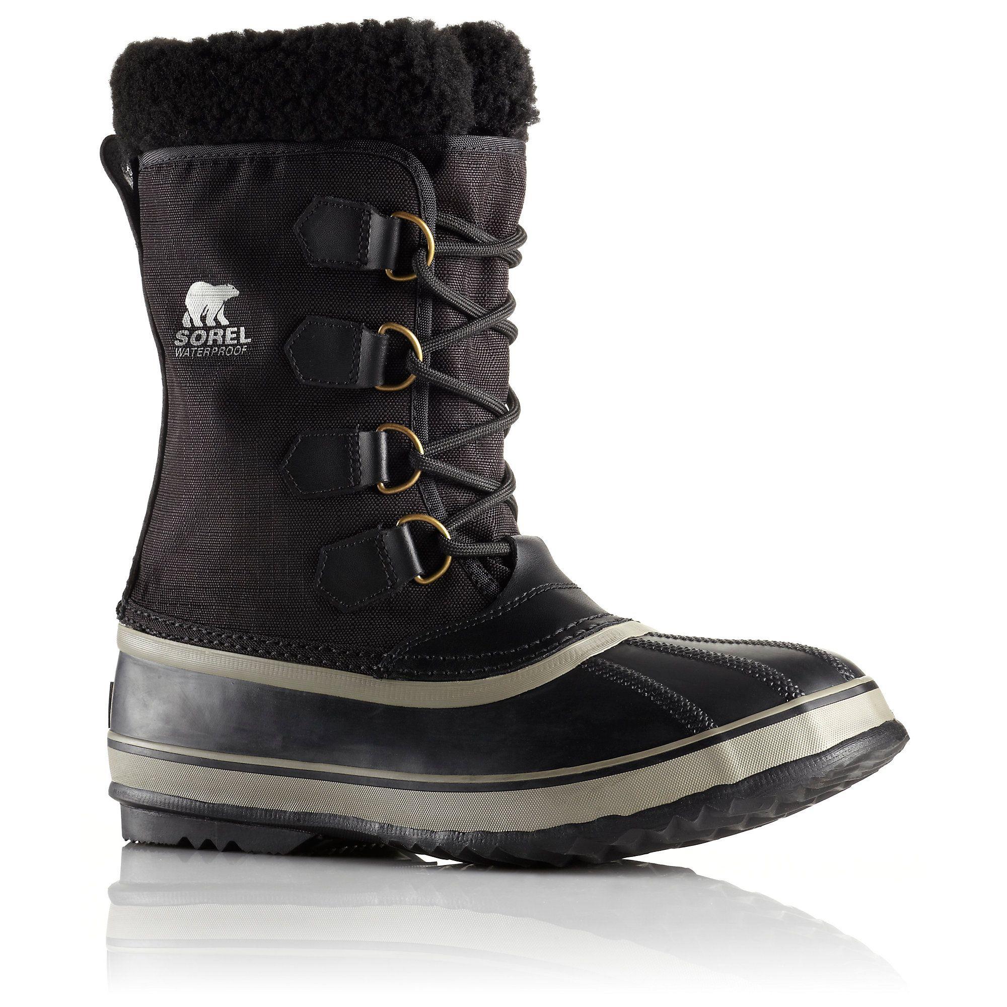 44725680ad1c9 SOREL Men s 1964 Pac Nylon Boot Size 9.5 - Black Tusk Abrigos
