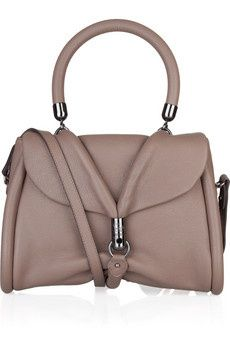 I love this Christian Louboutin Miss Rope leather shoulder bag (via Shop It To Me)