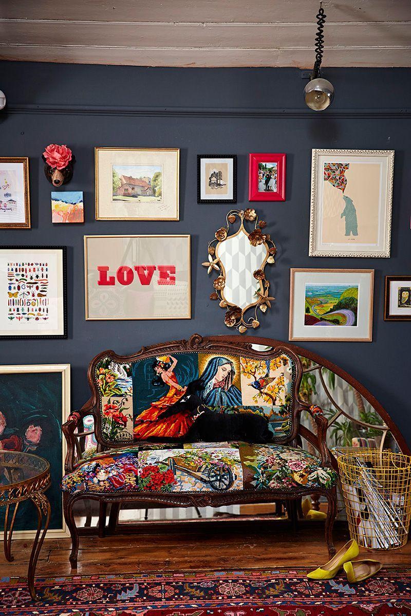 Popular Interior Design For Tv Showcase: Inside TV Presenter Sophie Robinson's Colourful Home