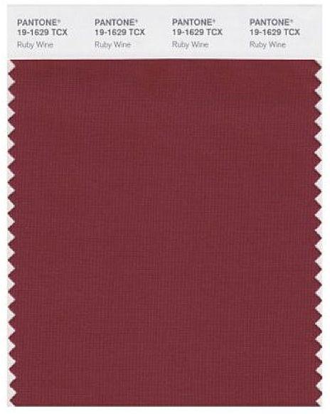 Pantone Ruby Wine