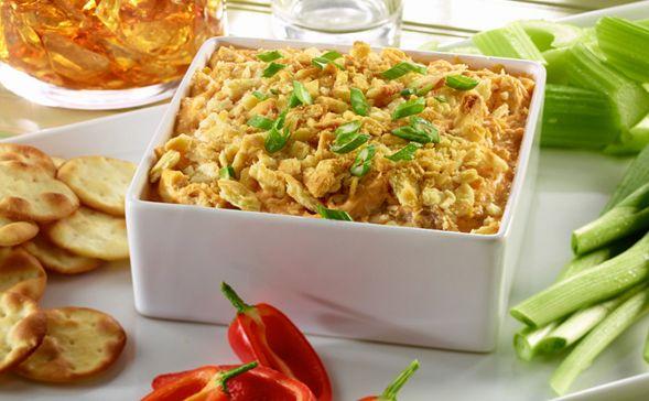 Spicy Buffalo Chicken Bake Better Than Bouillon Recipe Spicy Buffalo Chicken Spicy Recipes Baked Buffalo Chicken