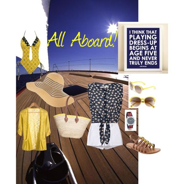 Nautical mix, created by jen-blagg on Polyvore