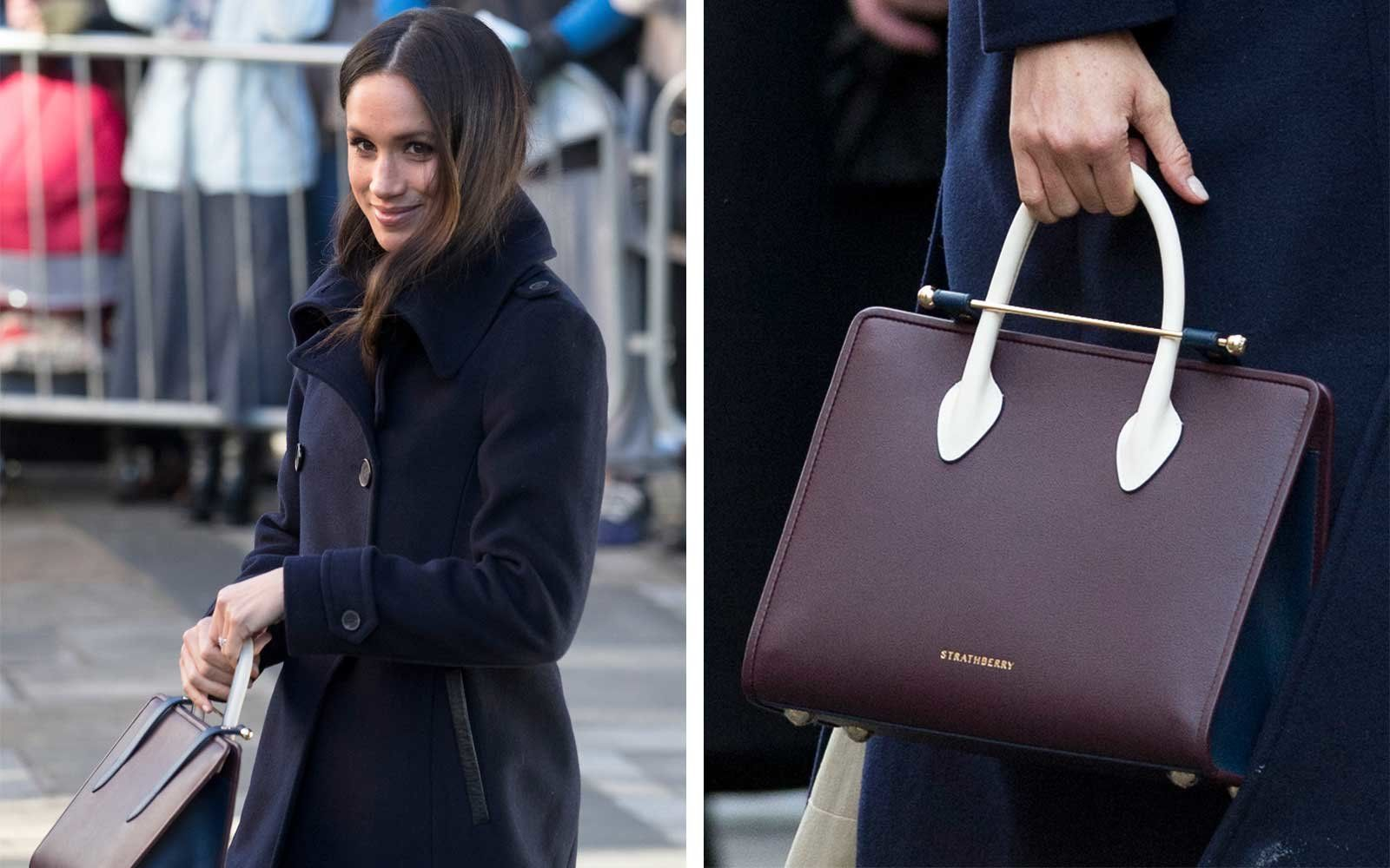5fd95581d5fa Meghan Markle Just Crowned the New It-bag