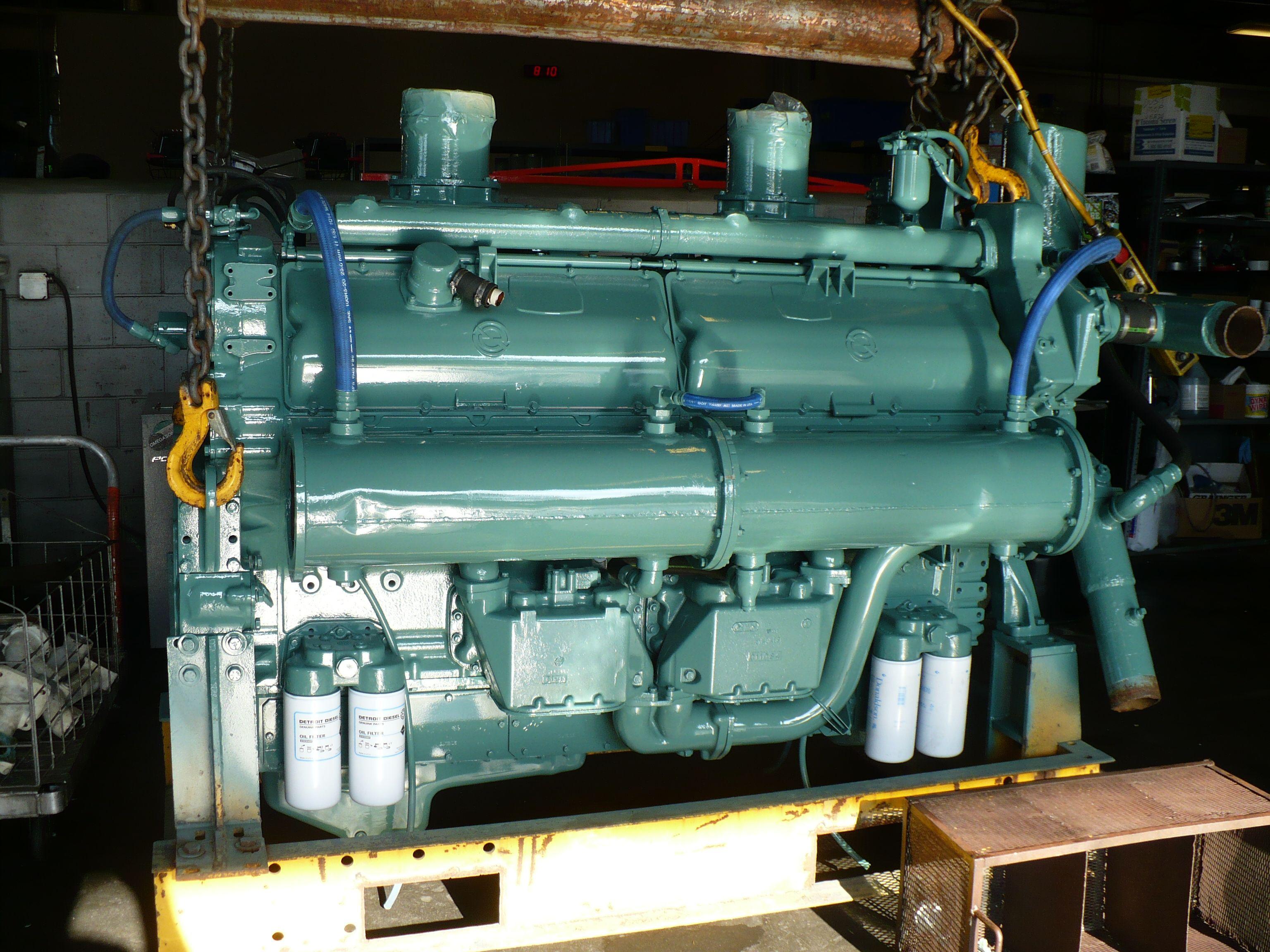 12v 149 Detroit Diesel Only Non Turbocharged 149 That I Ve Seen Detroit Diesel Diesel Crate Engines Big Trucks