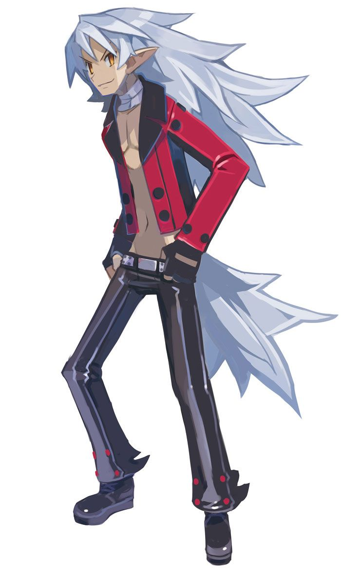 Fenrich From Disgaea 4 A Promise Unforgotten Character Art Disgaea Game Character Design