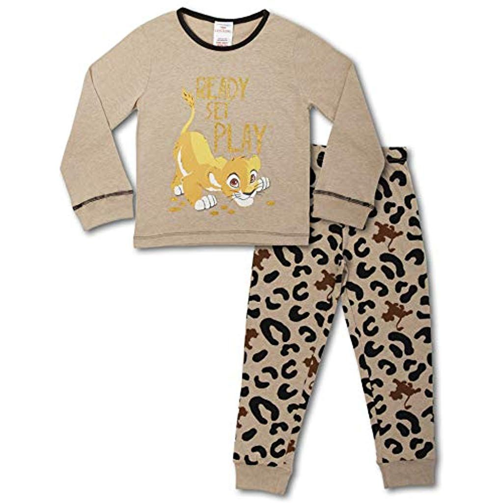 Disney König Der Löwen Schlafanzug Kinder | Mädchen