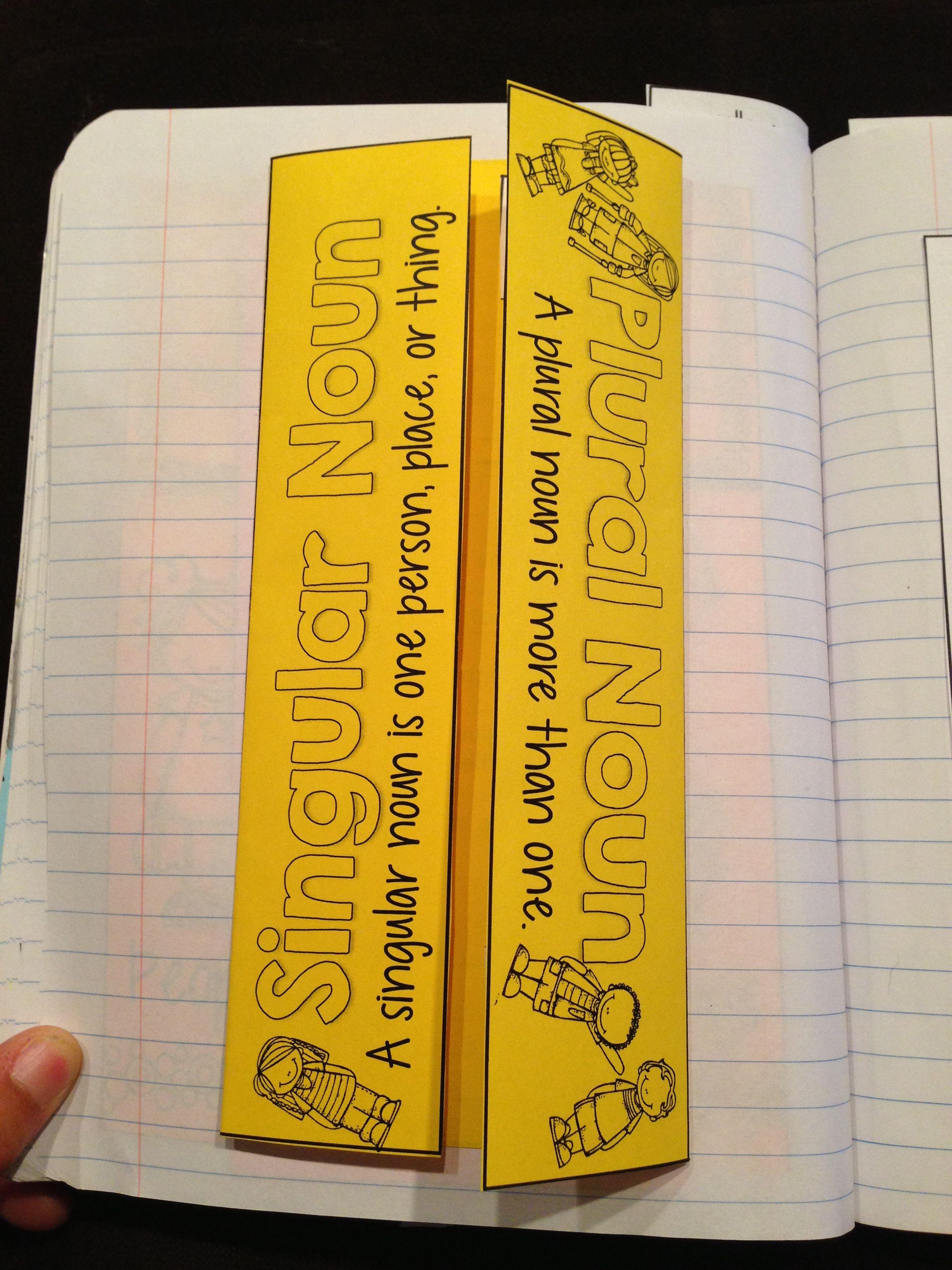 Grammar Interactive Notebook Language Arts