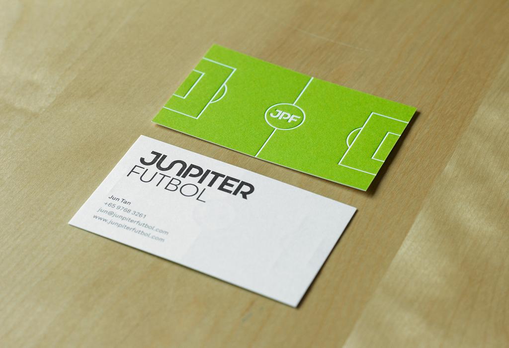 Junpiter futbol by bravo company design identidade identity junpiter futbol business card by bravo company colourmoves