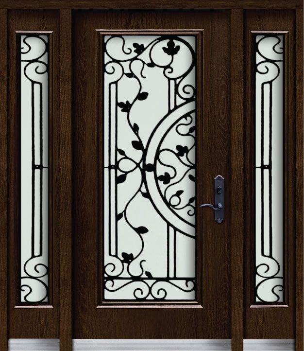31 Awesome Doors With Wrought Iron Insert Images Puertas De Hierro Forjado Ventanas De Fierro Puerta De Cristal