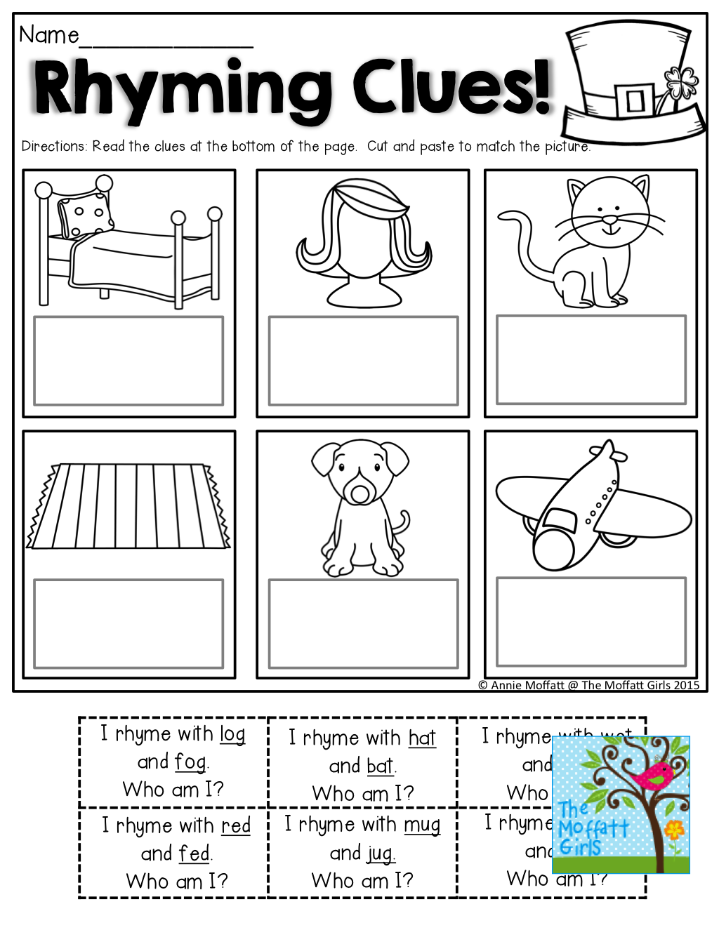 Rhyming Clues Such A Fun And Effective Way To Read And Rhyme Tons Of Great Printables Phonics Reading Rhyming Words Rhyming Activities [ 1325 x 1024 Pixel ]