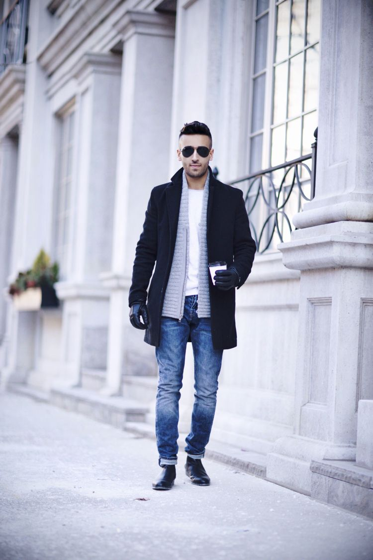 Mens leather gloves topman - Men S Fashion
