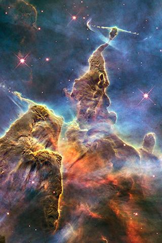 Taken by Hubble Space Telescope.