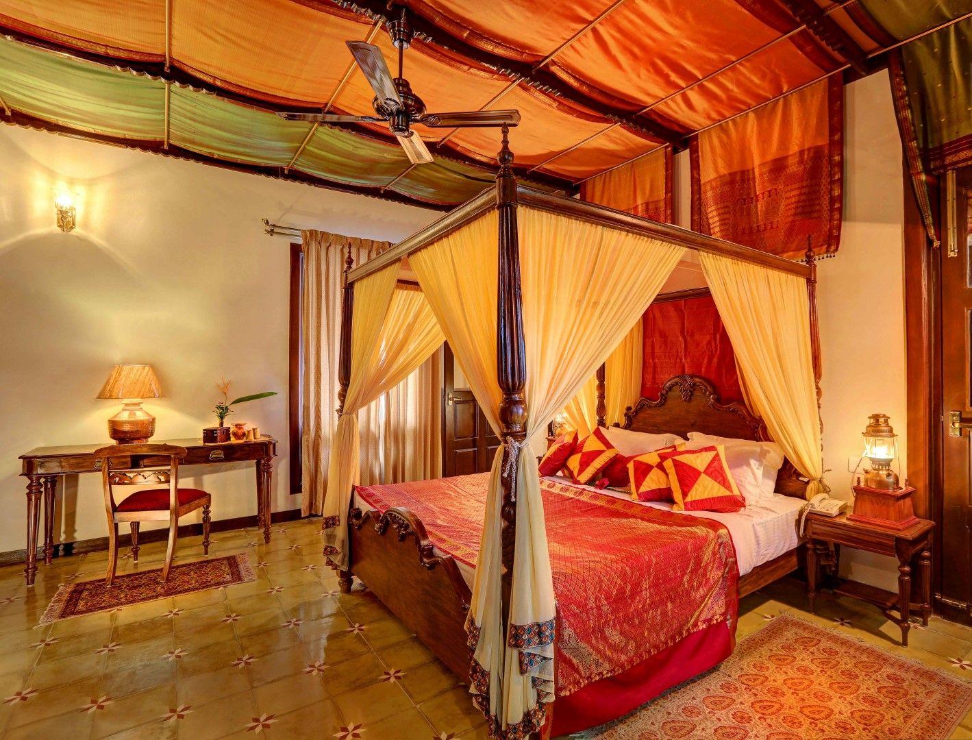 Hoysala Village resort | Royal bedroom, Interior ...