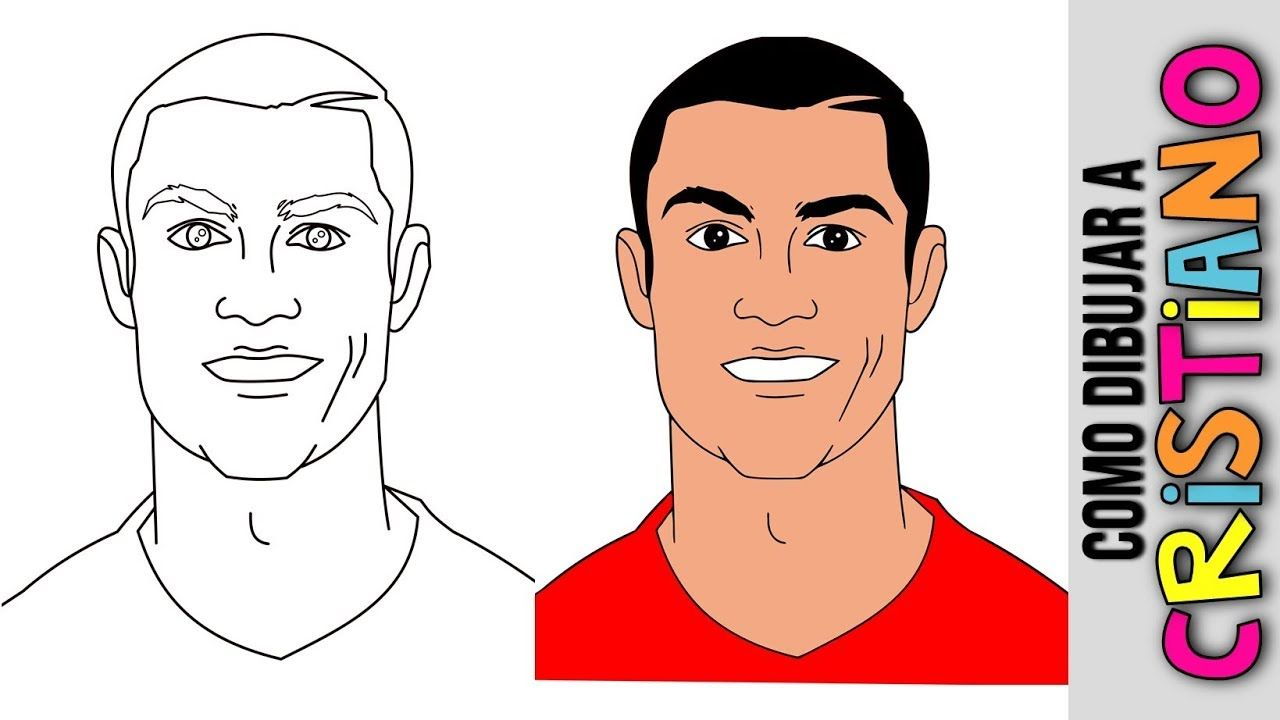 Cristiano Ronaldo Ronaldo Cristiano Dibujos Dibujos Para Colore Minik Evler