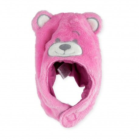 55120d5b275 Un hiver tout doux et au chaud avec notre bonnet bébé polaire fille rose