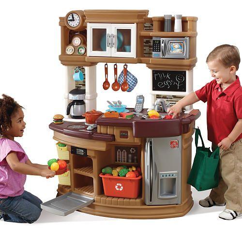 Step2 Lil\' Chef\'s Gourmet Kitchen - Neutral   Toddler ...