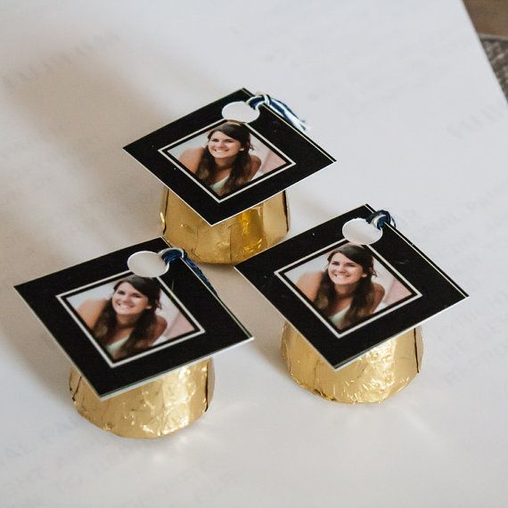 Order A Custom Designed Mini Graduation Cap Favor To Create Miniature Caps On Rolo Chocolate Candies Perfect Party Favors For High School