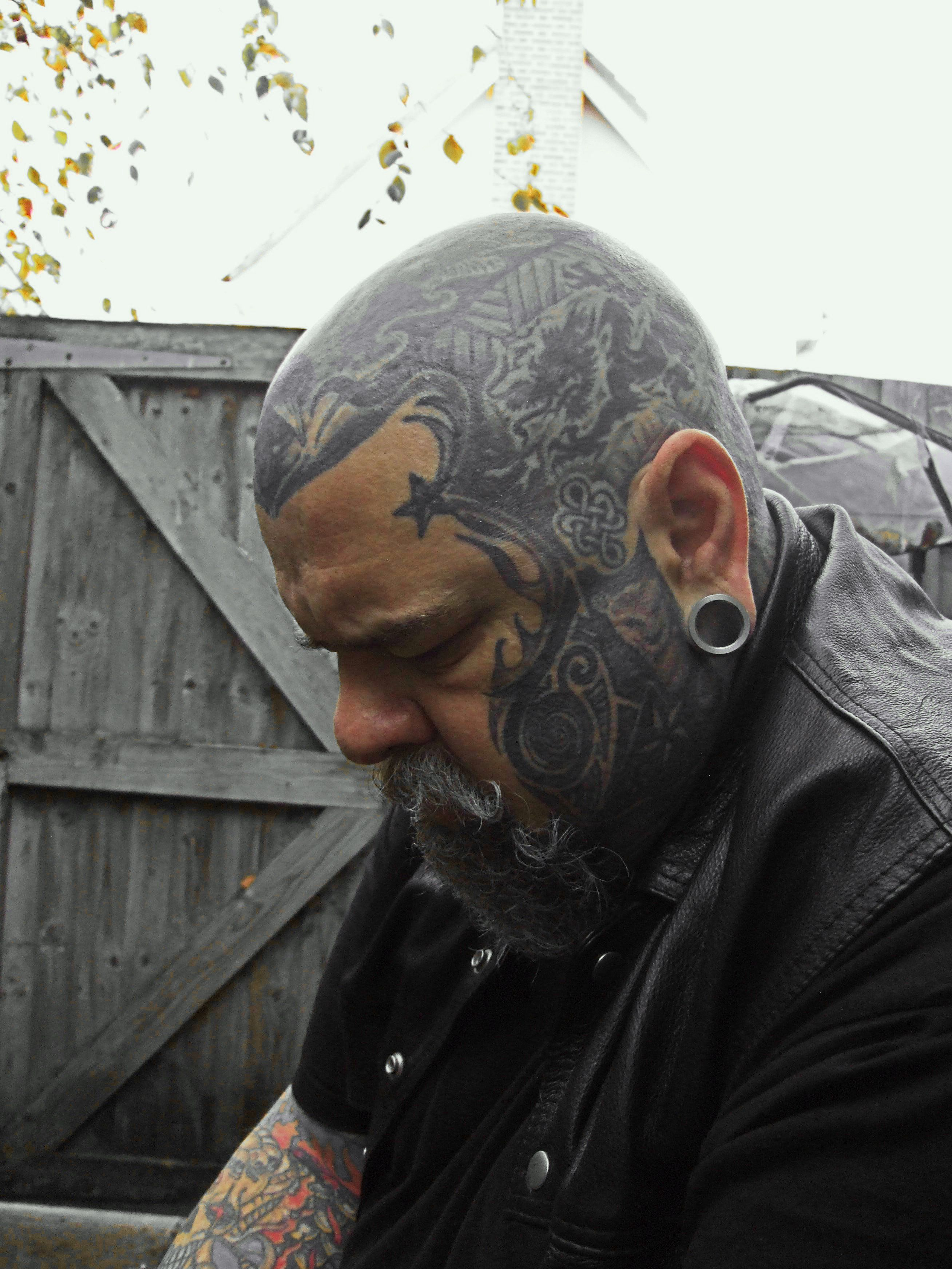 Songbird tattoo created at www mrsite com - Man Faces Tattoos