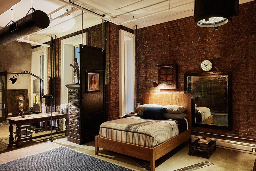 John Mellencamp's Soho Studio New York Soho loft