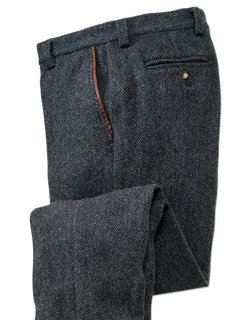 47b47a71eaf674 Donegal Tweed Pants for Men / Donegal Herringbone Tweed Pants ...