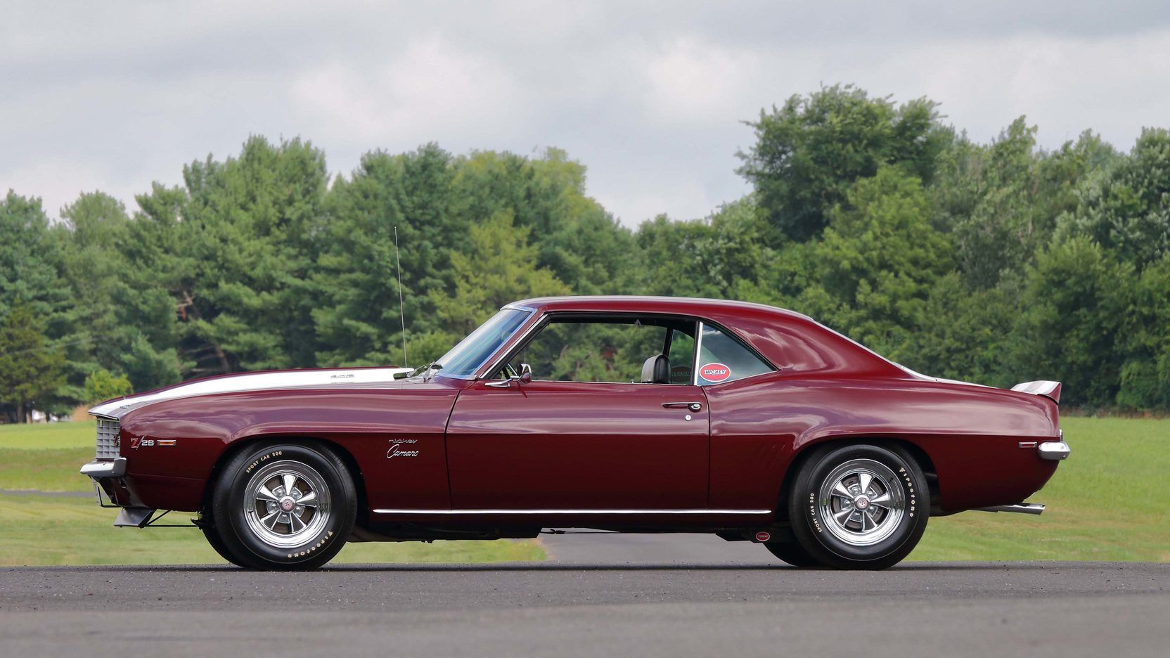 1969 Chevrolet Camaro Z28 Presented As Lot S173 At Harrisburg Pa