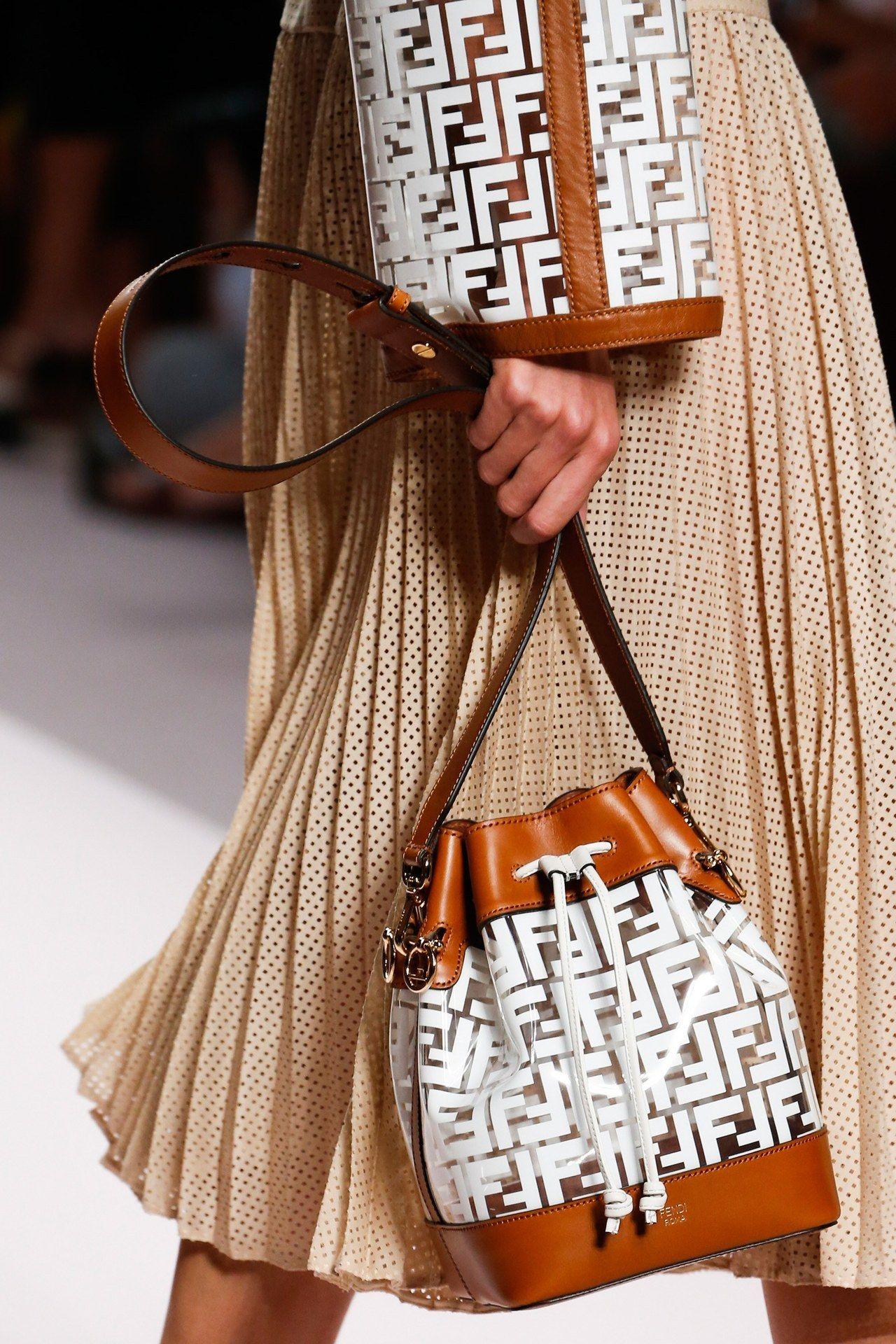 de109d2b02 Bag Trend for SS19: Plastic Sheer. Fendi Spring Summer 2019 MFW ...