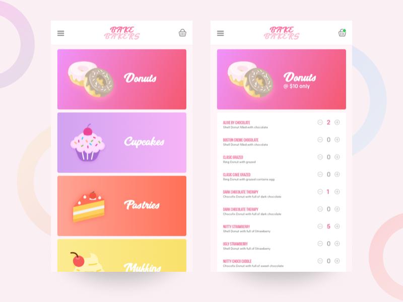 Bakery app App