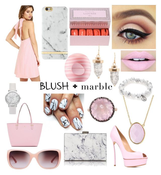 """""""BM"""" by tryingtomakeagoodlife on Polyvore featuring Kate Spade, Sydney Evan, Eos, Tory Burch, Casadei, Fiebiger, Bling Jewelry, Balenciaga and Mike Saatji"""