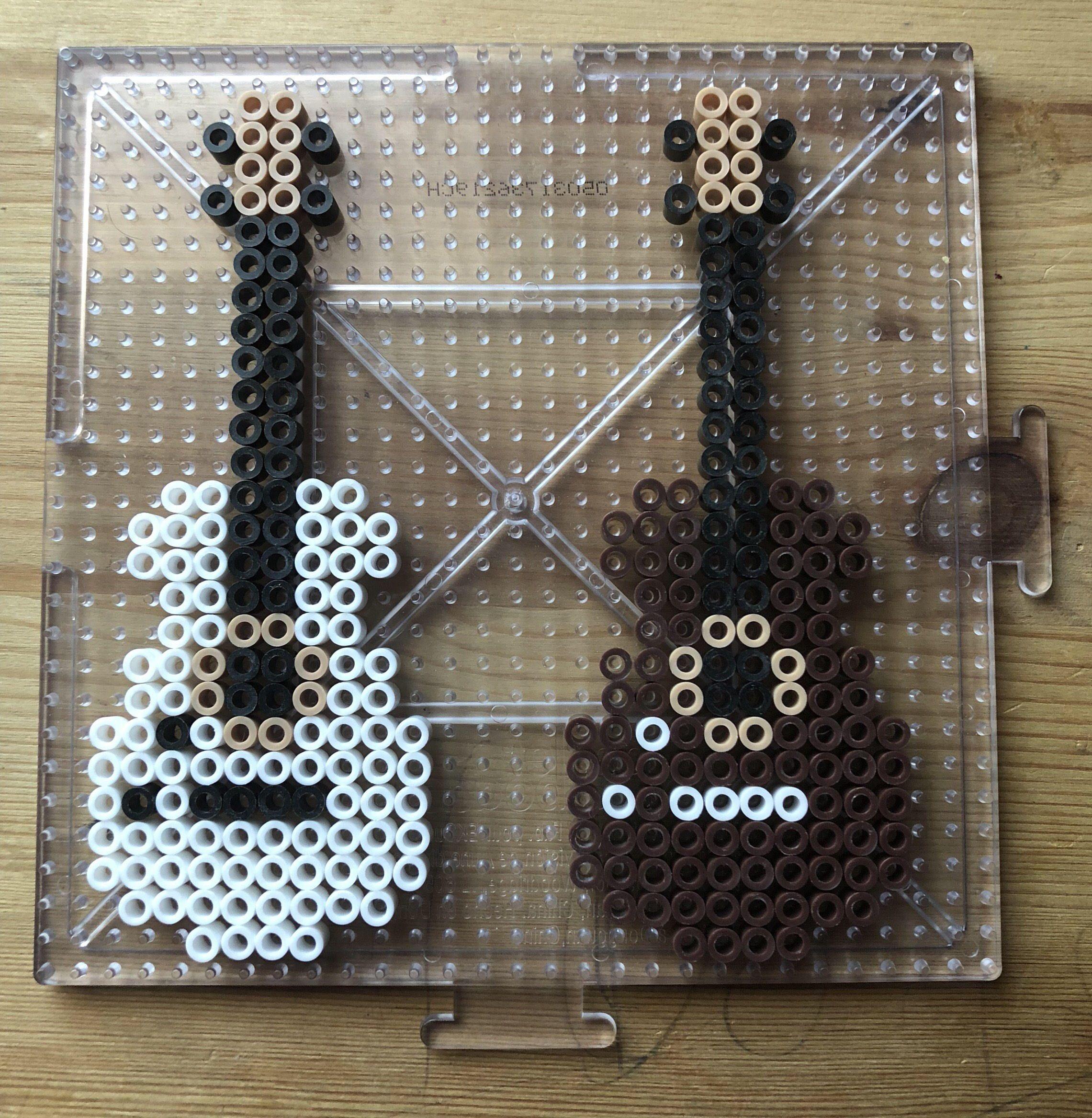 Guitar Perler Beads | Perler beads, Guitars and Beads