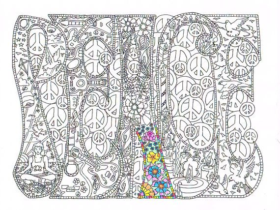 adult coloring page peace printable line art to by candyhippie abstract doodle zentangle zendoodle paisley