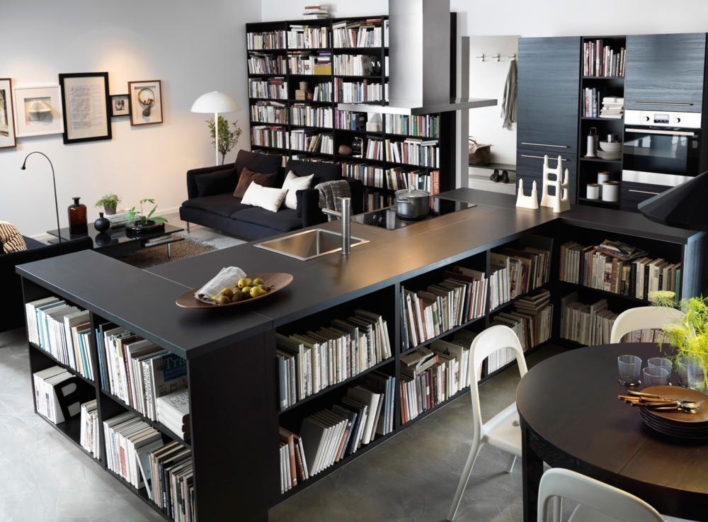Mit Bücherwänden eine private Bibliothek anlegen | Das knistern ...