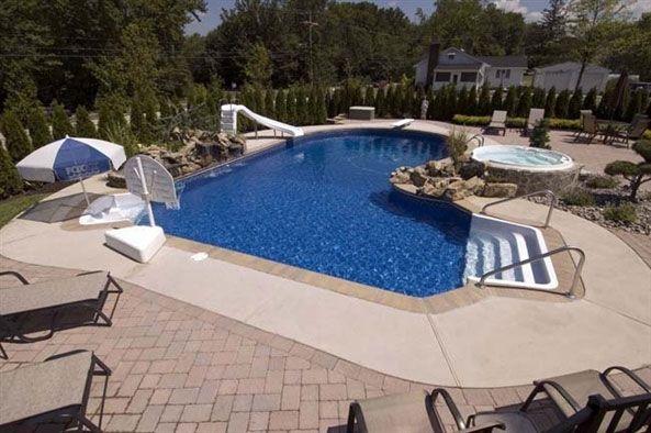 Inground Swimming Pool Designs In Ground Pools Pools