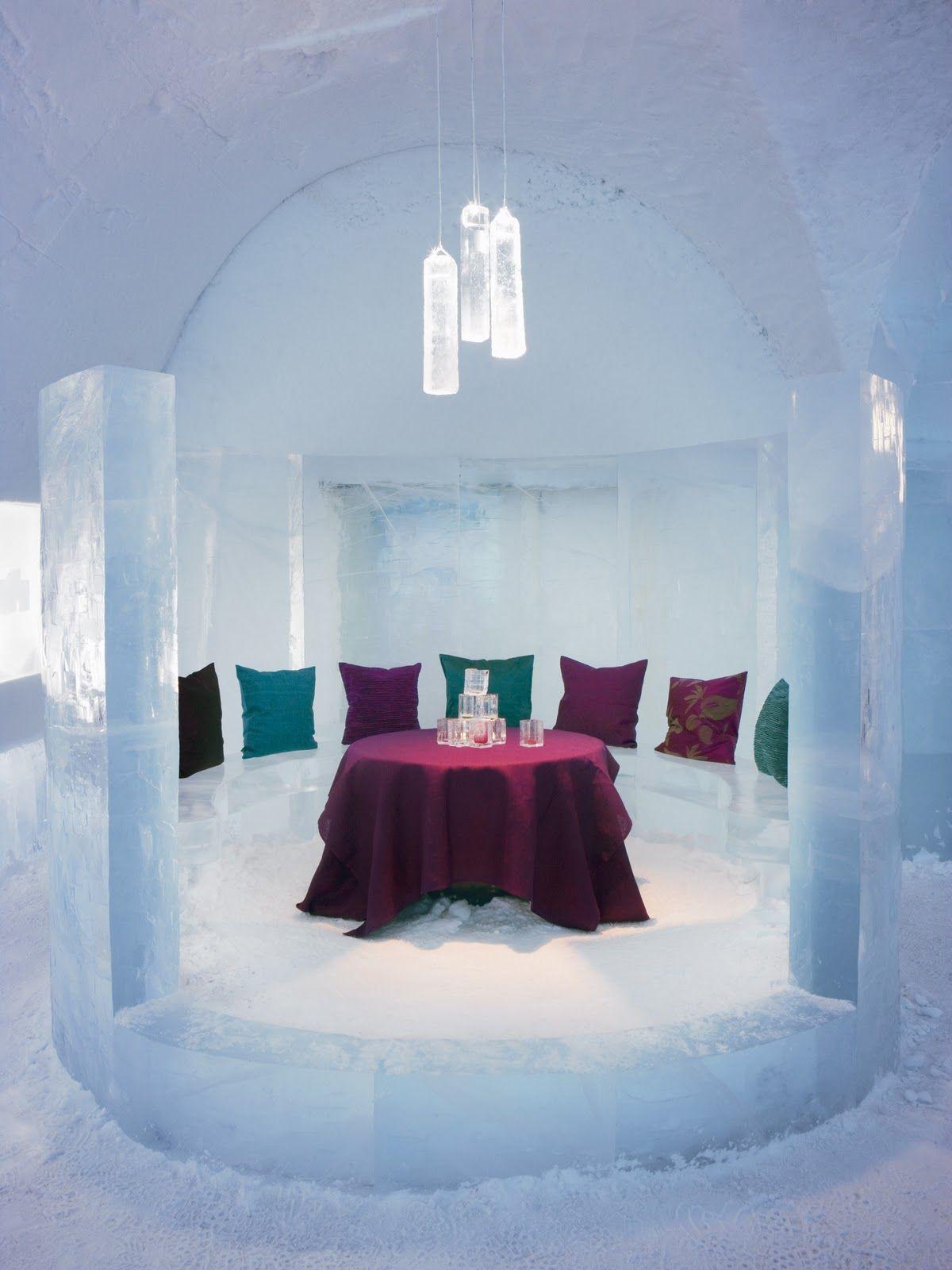 Ice Hotel Jukkasjärvi Sweden | (N)Ice Hotel | Pinterest | Eishotel ...