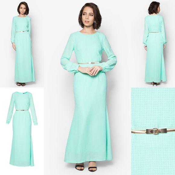 baju jubah moden minimalis raya 2017 fesyen trend terkini