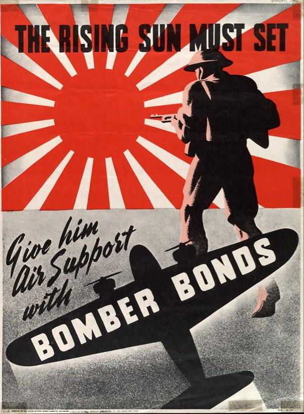 The Rising Sun Must Set Give Him Air Support With Bomber