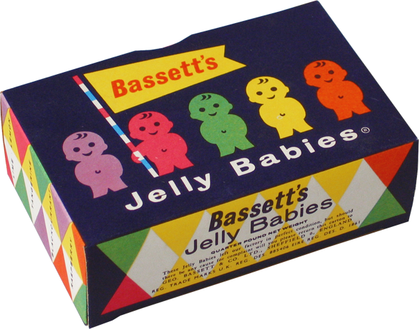 Bassett's Jelly Babies box♡