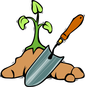 gardening shovel clip art vector clip art online royalty free rh pinterest co uk vegetable garden clipart black and white vegetable garden clip art free