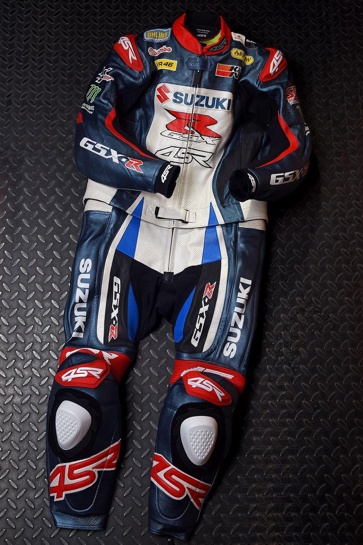 4SR 2PC custom suit Suzuki suit Suzuki gsxr Racing