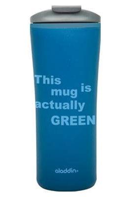 Aladdin PAPILLON Recycled & Recycable ... Der PAPILLON Thermobecher steht für Innovation und Nachhaltigkeit. Dies setzt sich auch in Form, Farbe und Verarbeitung fort. Einer der wenigen, die auch für die Mikrowelle geeignet sind. Preisgekrönt und aus recyceltem Material hergestellt, ist er dein strahlender und robuster Gefährte.