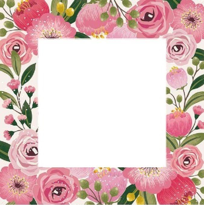 Pin By Jacianny Pereira On Yazi Fonlari 2 Flower Frame Flower Border Watercolor Cards