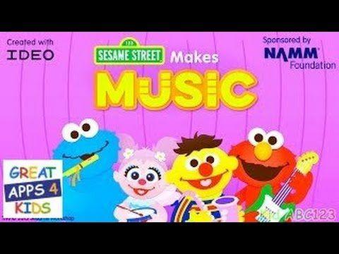 Sesame Street Makes Music Music App for Kids Music app