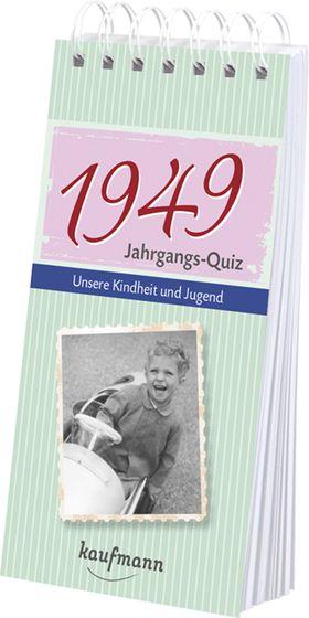 Jahrgangs Quiz 1949 Interessantes Geschenk Zum 70 Geburtstag