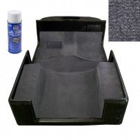 Deluxe Carpet Kit with Adhesive, Gray, 97-06 Jeep Wrangler (TJ)