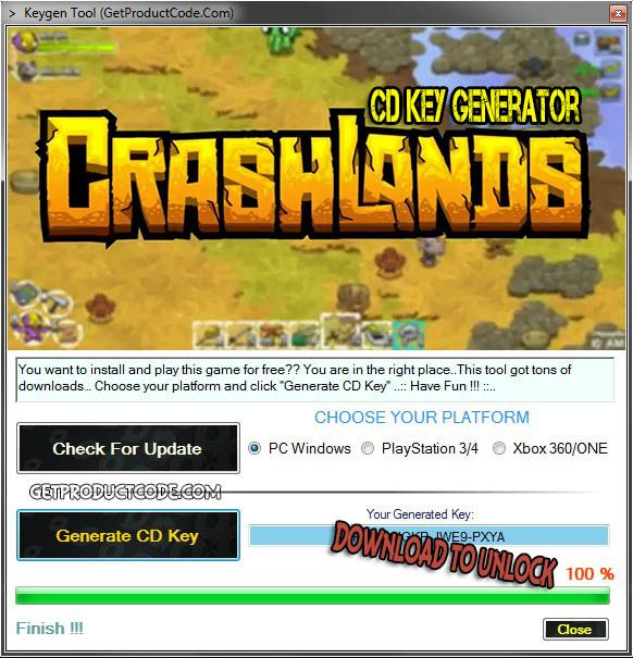 Crashlands Cd Key Generator 2016 Free Game Keygens And
