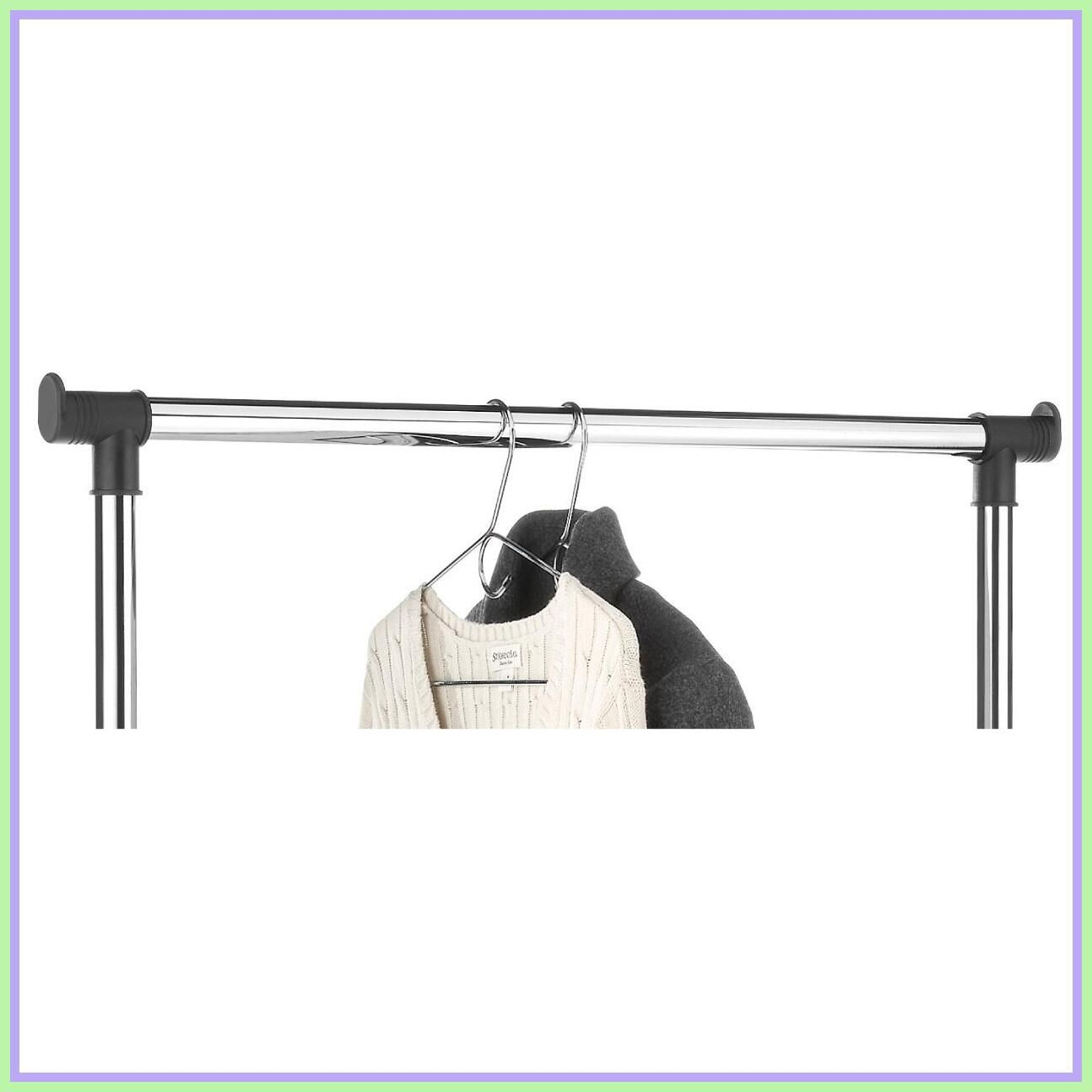 126 Reference Of Whitmor Supreme Garment Rack Chrome With Wheels