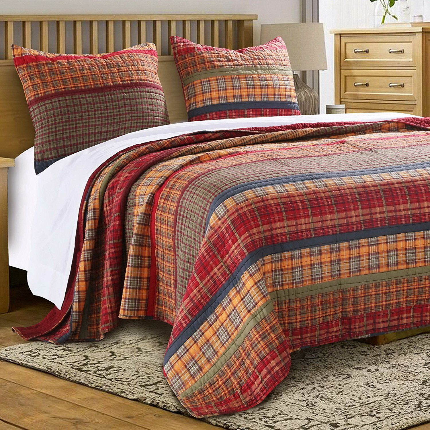 Tuscan Color Bedspread Love The Colors And Style Quilt