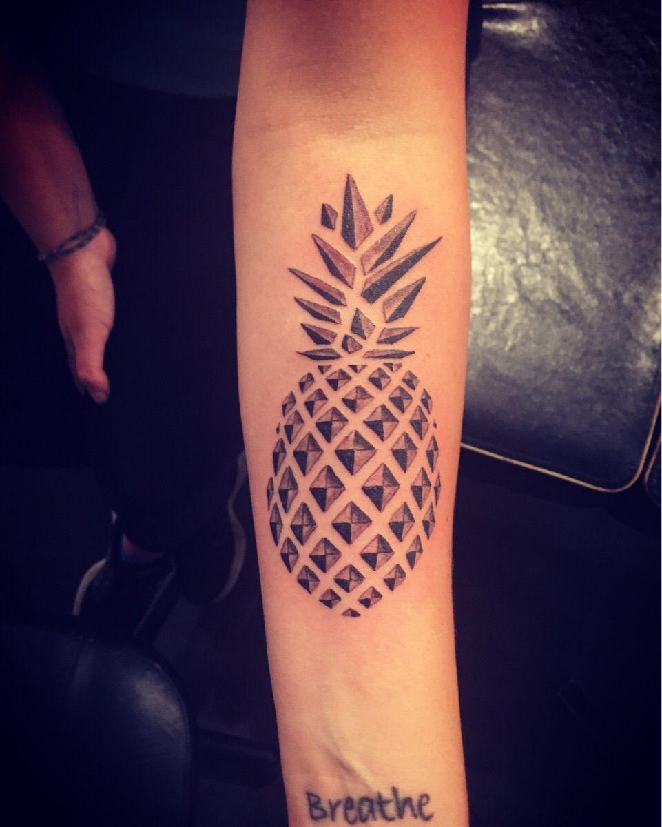 My pineapple by matt wear super genius tattoo seattle