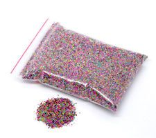 15g Mixed No Hole Micro Beads Caviar Manicure, Crafts. Free postage offer