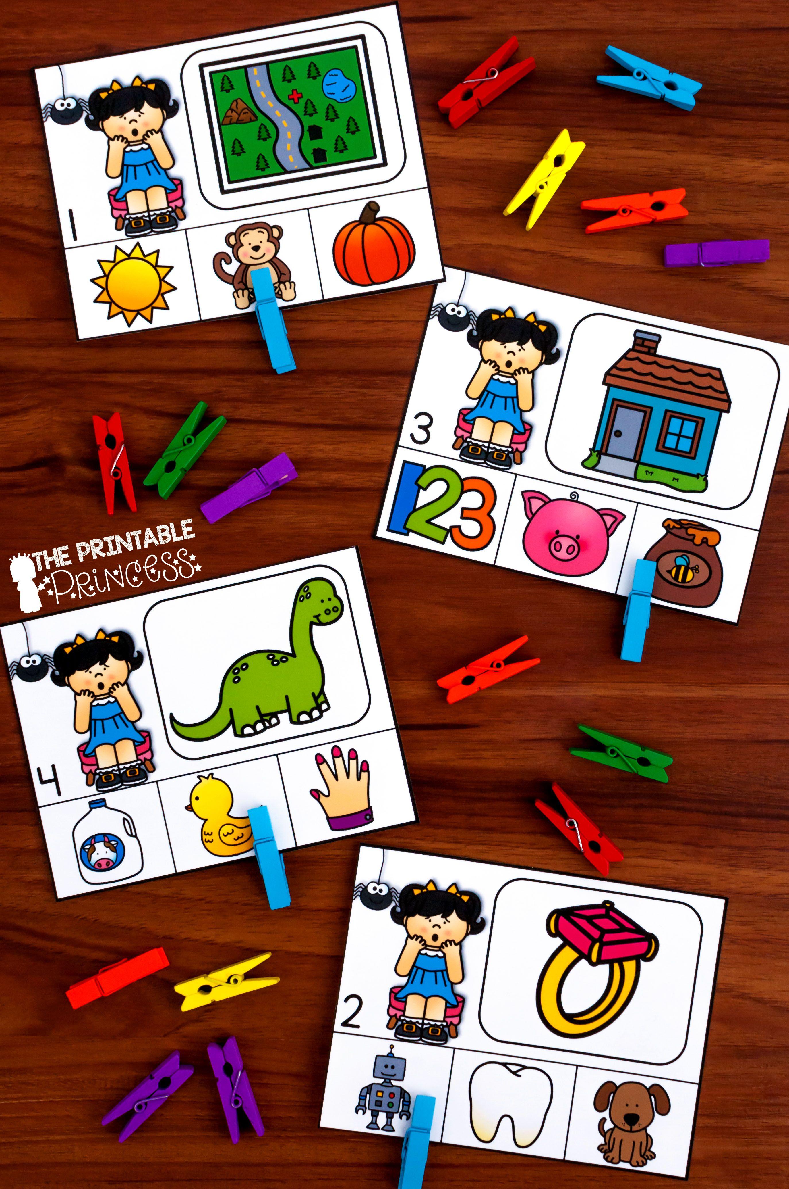 Kindergarten Nursery Rhyme Centers For Math And Literacy