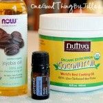 How To Make A Coconut and Essential Oil Infused Scalp Stimulator